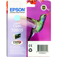 Epson T0805 Ink Cartridge Light Cyan C13T080540-0