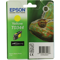 Epson T0344 Ink Cartridge Yellow C13T034440-0