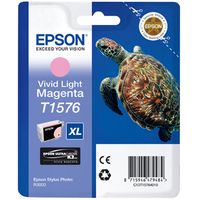 Epson Stylus Photo T1576 Ink Cartridge Light Magenta C13T15764010-0