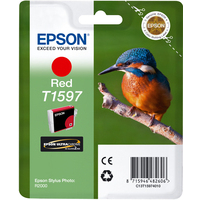 Epson T1597 Ink Cartridge Red C13T15974010-0