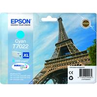 Epson T7022 Ink Cartridge High Yield Cyan C13T70224010-0