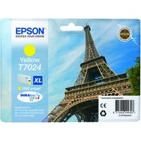 Epson T7024 Ink Cartridge High Yield Yellow C13T70244010-0