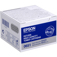 Epson AcuLaser C13S050651 Toner Cartridge High Yield Black -0