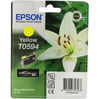 Epson T0594 Ink Cartridge Yellow C13T059440-0