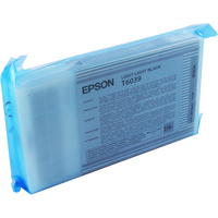 Epson T6039 Ink Cartridge Light Light Black C13T603900 High Capacity-0