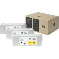HP C5075A Ink Cartridge Yellow HPC5075A 83 UV-0