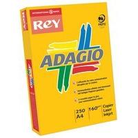 Adagio Card A4 160gsm Canary Pk250 AC2116-0