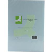 Q-Connect Coloured Copier Paper A4 80gsm Blue Pk500-0