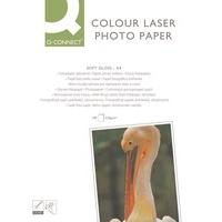 Q-Connect A4 Semi-Gloss Colour Laser Paper 218gsm Pk100 KF01935-0