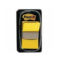 3M Post-it Index Tab 25mm Yellow 680-5-0