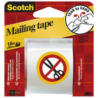 3M Scotch Packaging Tape Hand Tearable 50mm x16m E.5016C-0