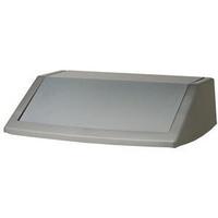 Addis 54L Fliptop Bin Lid Metallic 504895-0