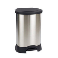 Addis Soft Close Bin 30L Stainless Steel 507650-0