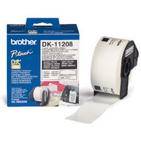 Brother QL Labels DK-11208 Address Label 38x90mm DK11208 Pk400-0