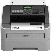Brother FAX-2840 Mono Laser Fax Machine Grey-0