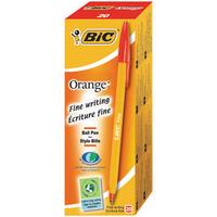Bic Orange Fine Ball Point Pen Red Pk20 1199110112-0