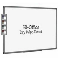 Bi-Office Dry Wipe Whiteboard 600x450mm MB0412186-0