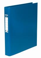 Elba A4 2-Ring Binder 25mm Blue 400001508 Pk10-0