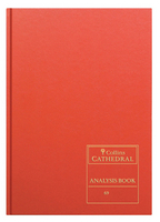 Collins Cathedral Analysis Book Cash Columns 96 Pages 69/20.1 811120/0-0