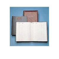 Collins Visitors Book Leathergrain 192 Pages 40-0