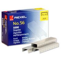 Rexel Staples No56 6mm Pk5000 06025 RX06025