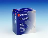 Rexel Staples No66/8 8mm ( Pk5000) 06065