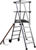 Work Platform 5-Tread Silver 307571