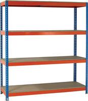 Heavy Duty Painted Unit Orange/Zinc 379051