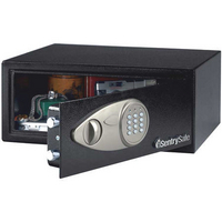 Sentry Medium Laptop Size Electronic Lock Safe Black X075