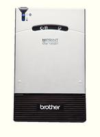 Brother Portable A7 Thermal Printer MW-145BT Silver/Black MW145BTZU1-0