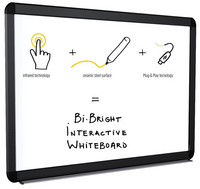 Bi-Office Bright 78 Interactive White Board-0
