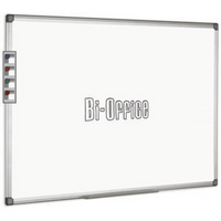 Bi-Office Whiteboard 2400x1200mm Alum Frame-0