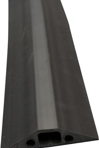 D-Line Black Medium Duty Floor Cable Cover 9m Long 68mm Wide FC68B/9M-0