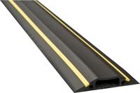 D-Line Black/Yellow Medium Hazard Duty Floor Cable Cover 9m FC83H/9M-0