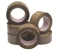 Polypropylene Tape 48mm X132m Buff-0