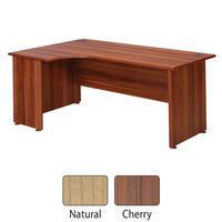 Avior 1800mm Left-Hand Radial Desk Cherry KF838259-0