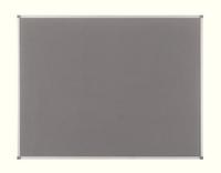 Nobo Elipse Notice Board Felt 1800x1200mm Grey 1900913-0