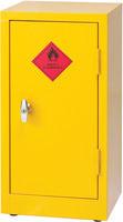 Hazardous Substance Storage Cabinet 28X14X12 inch C/W 1 Shelf Yellow 188737-0