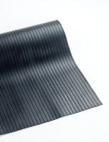 Broad Ribbed Matting 3mm 900mm X10m Black 378749-0