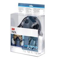 3M Half Mask and Filter Kit 7523L-0