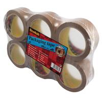3M Scotch Packaging Tape PVC 50mm x66m Buff PVC5066F6 B-0