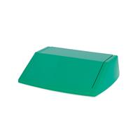 Addis 54 Litre Fliptop Bin Lid Green 512571-0