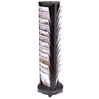 Alba A4 Rotary 39 Compartment Mobile Display Unit Carousel DDTOWER-0