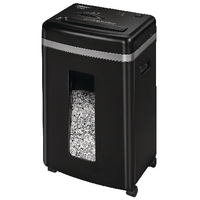 Fellowes 450M Micro Cut Shredder Black 4074101-0