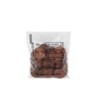 Cash Denominated Coin Bags BEVORBS0001 Pack of 5000-0