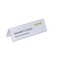 Durable Table Place Name Holder 61 x 210mm 8052/19-0