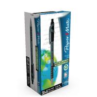 Papermate FlexGrip Ultra Retractable Ballpoint Pen Medium Black 1910073-0