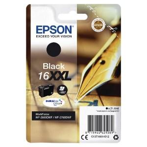 Epson 16XXL Black Ink Cartridge C13T16814012-0