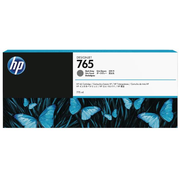HP 765 Dark Grey Original Ink Cartridge F9J54A-0