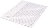 Concord Polypropylene Index 1-31 A4 White 64501